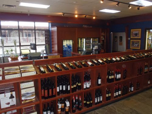 Kelowna Woodwork Renovation - Brandt's Creek Liquor Store cabinetry
