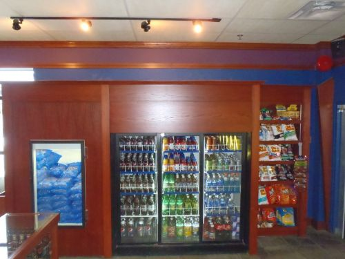 Kelowna Custom Cabinetry enclosing vending machines