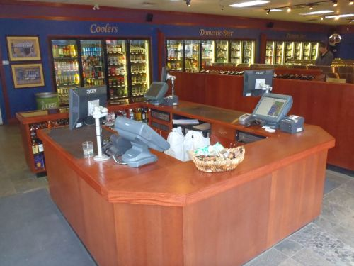 Kelowna Custom Millwork for Check-out counters